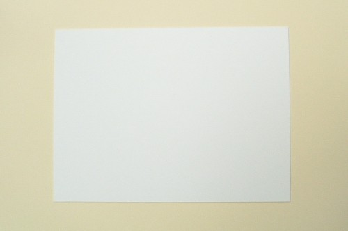 "White Plasticard Styrene Sheet 325mm x 440mm x 0.5mm (0.020"") 20 thou"
